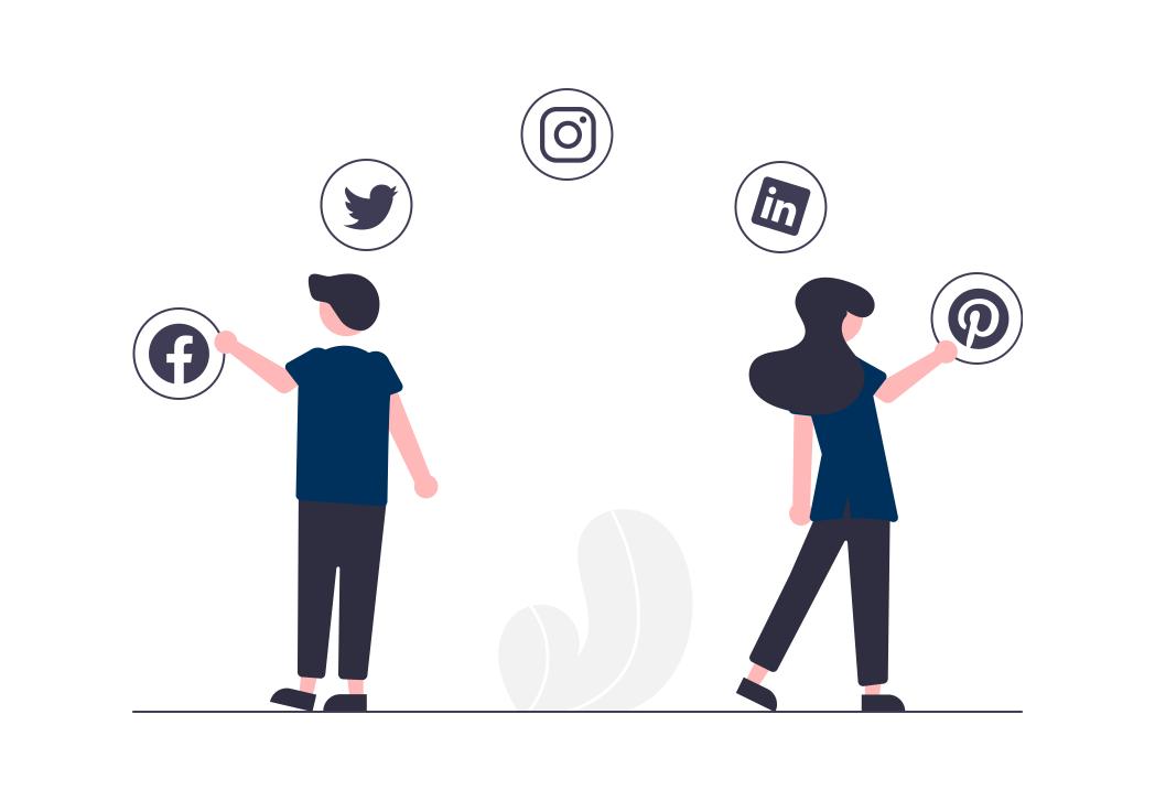 Widoczność firm w Internecie - Social media