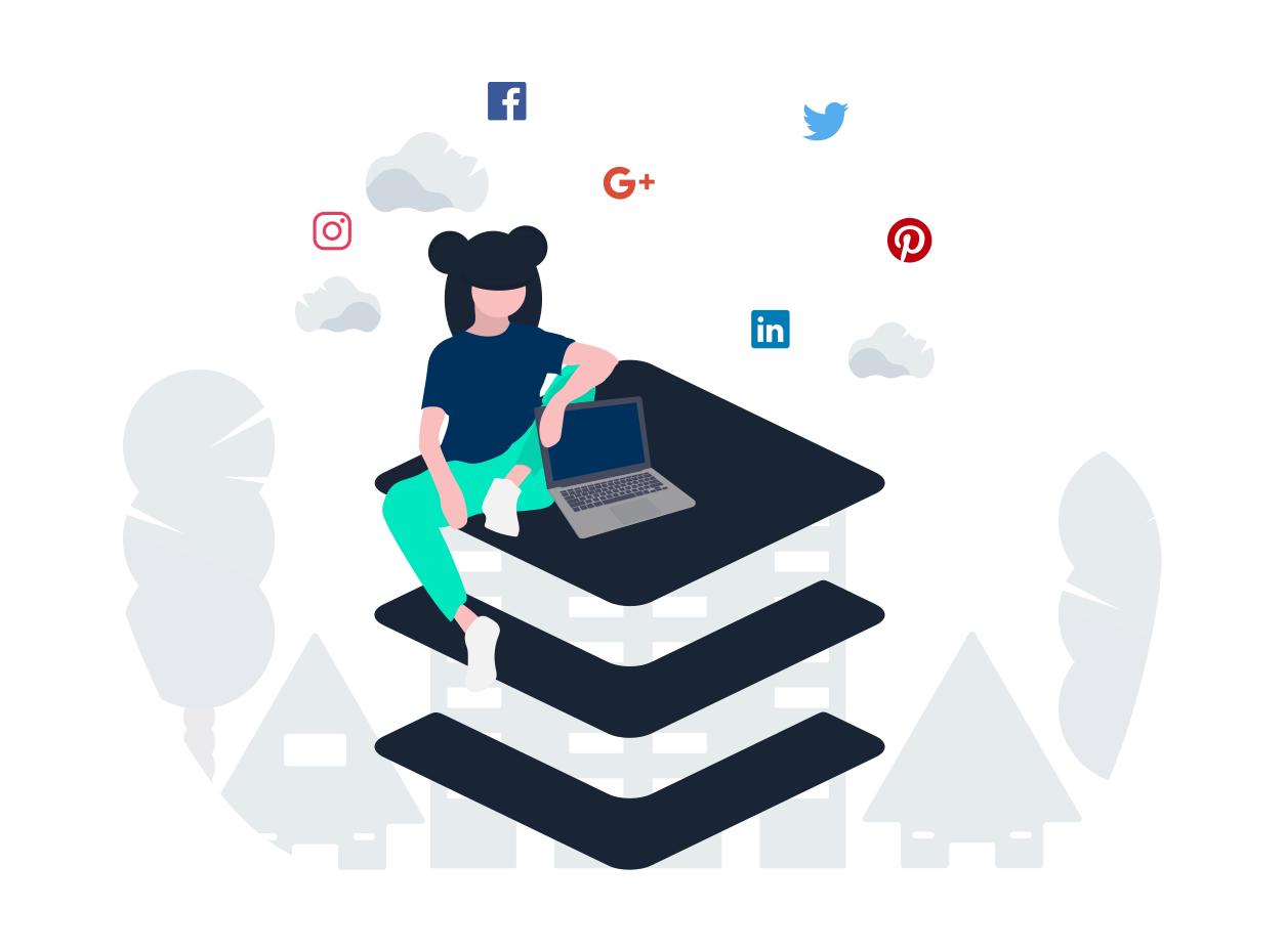 Prowadzenie social media - rozwój profilu