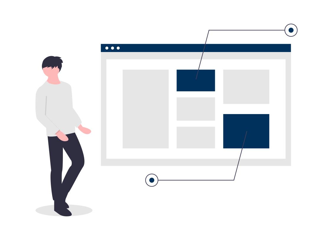Strony internetowe - Nowoczesny design
